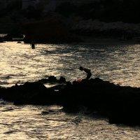 Мальчик и море. :: Mila .