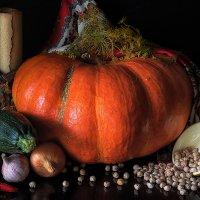 Осенний натюрморт с тыквой / Autumnal :: Сергей В. Комаров