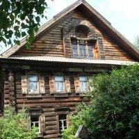 Срубовый дом в Костромской слободе :: Надежда