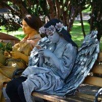 перерыв у ангела :: Константин Трапезников