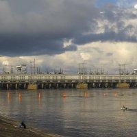 Рыбаки у Камской ГЭС :: Сергей Цветков