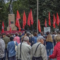 Против пенсионной реформы :: gribushko грибушко Николай