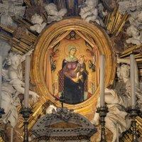 Умбрия. Орвието. Кафедральный собор (Duomo di Orvieto). Придел Св. Бриция. Мадонна делла Тавола :: Надежда Лаптева