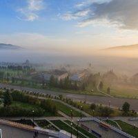 Утренний туман :: Анатолий Соляненко