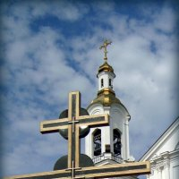 Витебск. Свято-Успенский Собор. Фрагмент :: Евгения Х