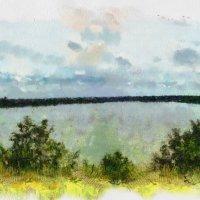 Панорама Касплянского озера. :: Aleksandr Ivanov67 Иванов