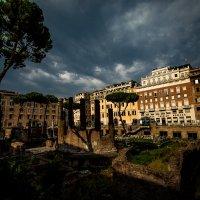 Рим,развалины Театра Помпея ( место убийства Юлия Цезаря) :: Олег Семенов