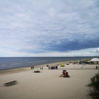 Осенний пляж :: Инга Энгель