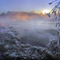 Морозное утро осени... :: Андрей Войцехов