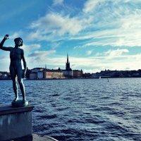 """Скульптура """"Песня"""" """"Sången"""" Стокгольм :: Swetlana V"""