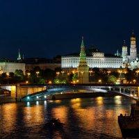 Ночная Москва :: Дмитрий Чуфаров