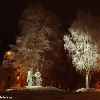 Ночной пейзаж :: ИгорьОк Бородин