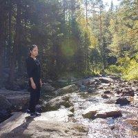 На речке в Национальном парке Таганай. :: Александр Иванов