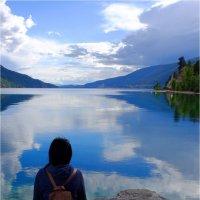 Kalamalka lake in BC Canada. :: Alexander Hersonski