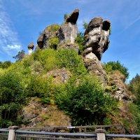 Живописные  скалы  Франконской  Швейцарии :: backareva.irina Бакарева
