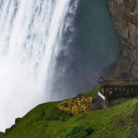 Необычный ракурс известного водопада :: Valery Remezau