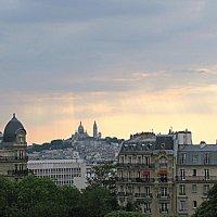 Париж. Вид на Собор Сакре - Кёр. :: Владимир Драгунский