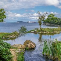 Бухта Аякс, остров Русский, г. Владивосток :: Эдуард Куклин