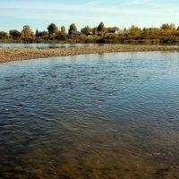 А речка тихо катится... :: Нэля Лысенко