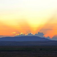 Солнце спрятолось :: Виктор Шандыбин
