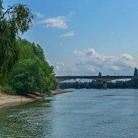 Мост через р.Кубань :: Николай Саржанов