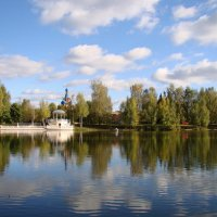 В конце сентября на озере :: Татьяна Георгиевна