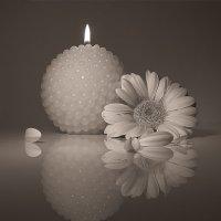 Иногда под вечер мы зажигаем свечи... :: Наталья Кузнецова