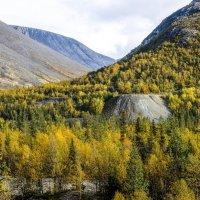 горы Куэльпорр, в которых произошли три подземных ядерных взрыва :: Георгий
