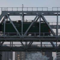 Железнодорожный мост. :: Павел