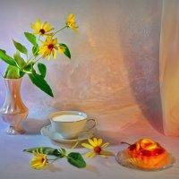Фруктовое пирожное & молоко :: Наталия Лыкова