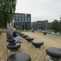 Памятник Эдуарду Тубину и импровизированному оркестру :: Елена Павлова (Смолова)