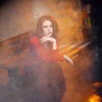 В круге дыма. :: Александр Бабаев