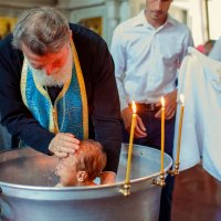Крещение Анастасии :: Кристина Беляева