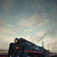 Красвец П36 на станции Орёл :: Леонид Абросимов