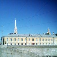 Вид с Обводного канала на Казачий собор. (Санкт-Петербург). :: Светлана Калмыкова