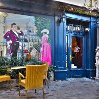 кафе  Мулен де ла Галетт. с видом на Париж :: ИРЭН@ .
