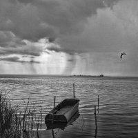 Дождь. Озеро Неро :: Алексей Ярошенко