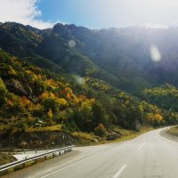 по дороге в Южную Осетию :: Батик Табуев