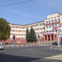 Дом Советов и памятник Ленину В.И. :: Анна Воробьева