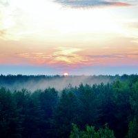 красивый закат :: Владимир