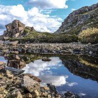 пруд в скале :: Георгий А