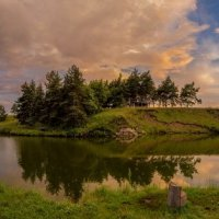 закат панорамка :: Алексей Бородкин