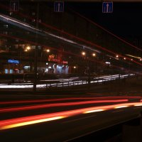 Вечерние огни города. :: Павел