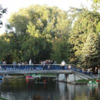 В парке Гагарина :: марина ковшова