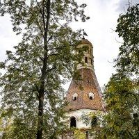 «Солевая» башня Симонова монастыря. Москва :: Сергей Козырев