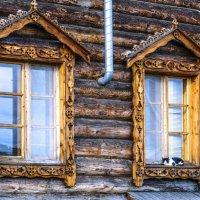 окна на самом северным в мире монастыре (3) :: Георгий А