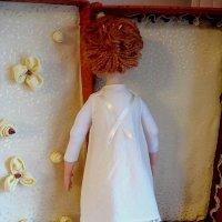 Моя первая рукотворная кукла Ева-Мария, год  создания 2008, в Московской Школе Кукольного Дизайна. :: Надежд@ Шавенкова