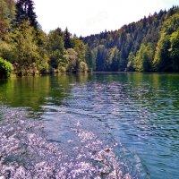 Озеро в  Поттенштайн, Франконская  Швейцария :: backareva.irina Бакарева