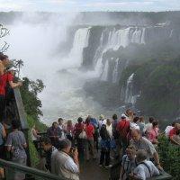 У ног водопада Игуасу :: ZNatasha -