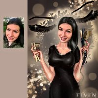 Бьюти-портрет для мастера красоты :: Дарья Суркина